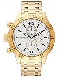 Louis Villiers- Reloj de cuarzo lv1025 para hombre