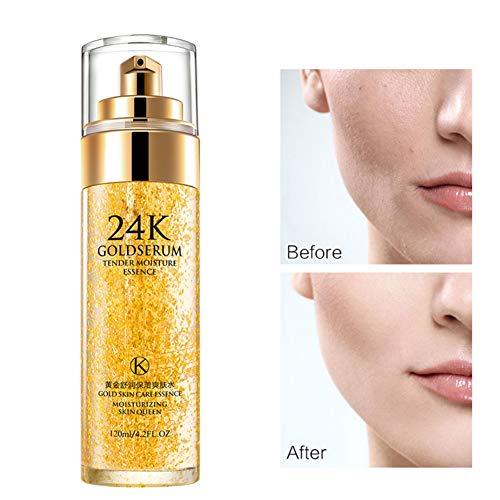 BOBORA 24K Gold Facial Toner Feuchtigkeitsspendende Haut Schrumpfende Poren Sanfter feuchtigkeitsspendender Toner Stellt das Ölgleichgewicht zwischen Hautstraffung und glatter Haut wieder her - Toner 24k