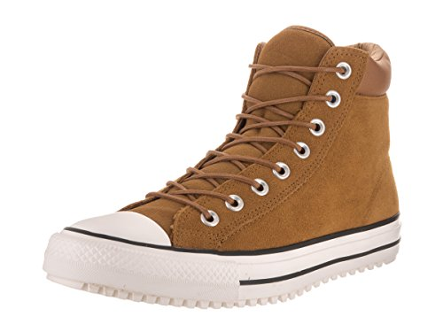 AS Hi Leather Converse Mandrini 139820C Hiker2 Lea Pigna Brown Premium Chuck Brown