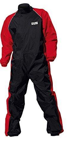 IXS Orca Evo Regenkombi, Farbe schwarz-rot, Größe 4XL