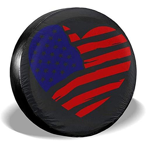 Hiram Cotton Spare Tire Cover Stati Uniti d'America Flag2 Copertura Ruota di Scorta Copertura Pneumatici Fuoristrada velocità Estrema Overdrive Univers