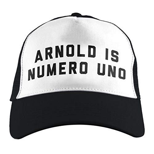 (Arnold Schwarzenegger Arnold is Numero UNO, Trucker Cap)