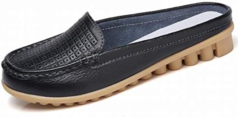 Oudan Scarpe da pisello Moda Scarpe da Donna Comfort Indossare Tutte Le Scarpe da Gioco (Coloreee   Nero, Dimensione... | In Uso Durevole  | Uomini/Donna Scarpa