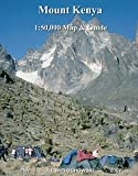Mount Kenya Map and Guide