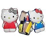 IMPACTO COLECCIONABLES Estuche Portaobjetos de Hello Kitty - 2 Modelos Distintos