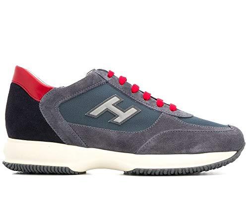 Hogan Scarpe Uomo Sneaker Interactive h Flock HXM00N0Q102JGF489N (40 EU)
