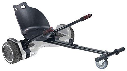 """Speeron Elektro Roller: 2in1-Elektro-Scooter und Kart XL-910.Duo, 7\""""-Räder, 600 W, bis 100 kg (Hoverkart)"""