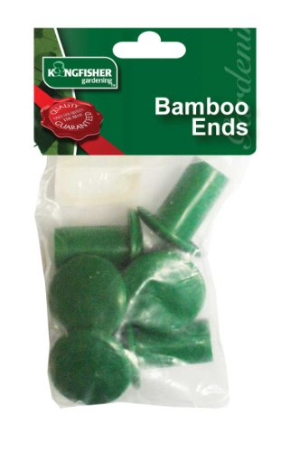 kingfisher-gsbam1-bamboo-end-protectors-green-6-piece