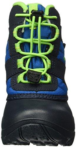 Columbia Jungen Childrens Rope Tow III Waterproof Blau (Blue Magic/ Green Mamba)