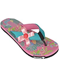 8bbe5d11b BlackCoal Womens House Slipper Girls Slip-On Casual Home Pink Flip Flops  WFH59