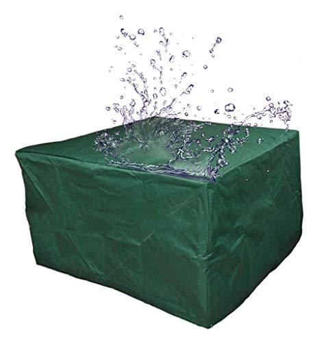 Waterproof Cloth Home Tente extérieure Meubles d'extérieur Couverture imperméable Cache-poussière auvent bâche de Pluie (Color : Army Green, Size : 205 x 145 x 70cm)