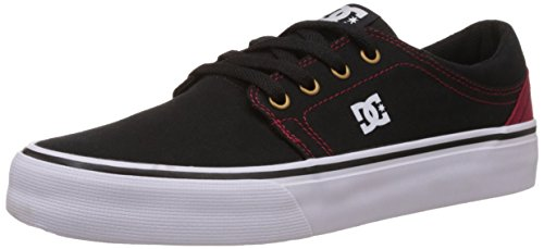 DC Shoes Trase Tx M, Baskets Basses Homme Noir (BLR)