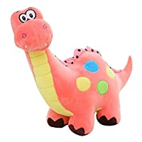Drasawee Cartoon Dinosaur Dragon Colourful Large Size Toy Cuddly Plush Soft Stuffed doll Pink S