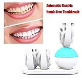 LWPCP Automatische U-Art Elektrische Zahnbürste Wireless Lade Smart Wiederaufladbare Zahnbürste 360 Grad Sauber