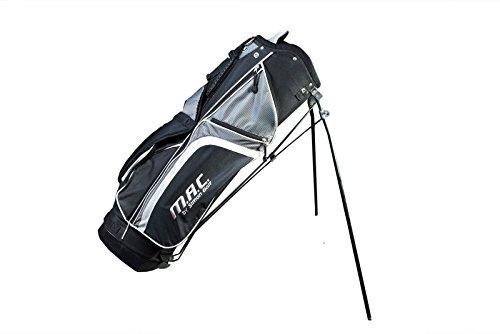 Mac trous Tour Sac de Golf de transport Support Gris Noir Léger de image billet £ Free P & P