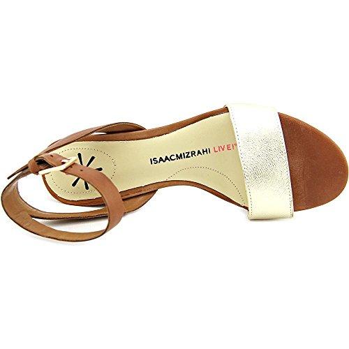 Isaac Mizrahi Madeline Femmes Cuir Sandales gold