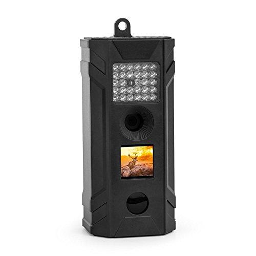 Duramaxx Grizzly S • Wildkamera • Fotofalle • Jagdkamera • Überwachungskamera • 5 Megapixel • 1,5-Display • Infrarot-Blitz • PIR-Bewegungssensor • 45° Erfassungswinkel • wetterbeständig • schwarz