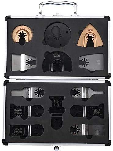 13pcs   set set set Accessori per utensili elettrici oscillanti Lame a sgancio rapido Adatte per nero & Decker, Dewalt e altro | Nuovo Prodotto 2019  | Facile da usare  | Materiali Accuratamente Selezionati  5d4412