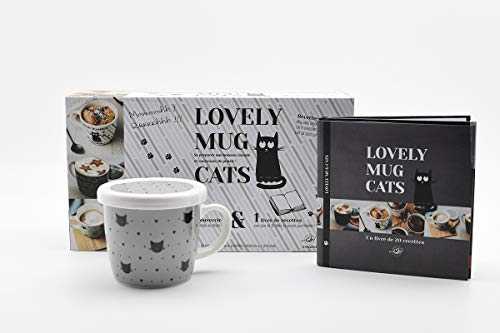 Lovely mug cat coeur par Collectif