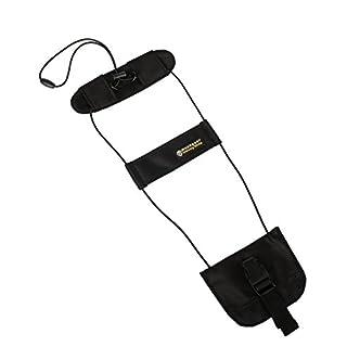 musegear® Trolley Strap - Handgepäck-Befestigungauf Trolley- Add-A-Bag Gepäckgurt für Koffer -Urlaub-Gadget