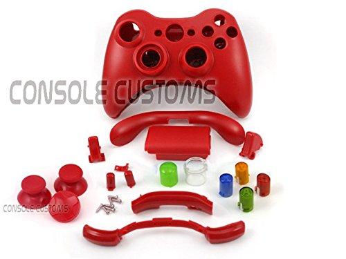 Xbox 360 Controller-Gehäuse/Reparaturset für Controller, matt,