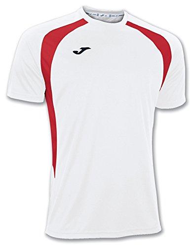 Joma Champion III Maglia Allenamento Uomo, Multicolore (Bianco/Rosso), 2Xl-3Xl
