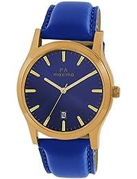 Maxima Attivo Date Blue Dial MEN -O-46981LMGY
