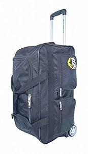 "Outdoor Gear Ballistic Nylon Luggage Wheeled Holdall Travel Trolley Suitcase Holiday Weekend Bag - Medium 24"" Large 30"" Extra Large 34"""
