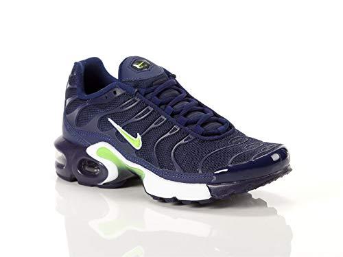 brand new 62371 78467 Nike Air MAX Plus TN 1 655020-421 Midnight Navy Volt-Blue-