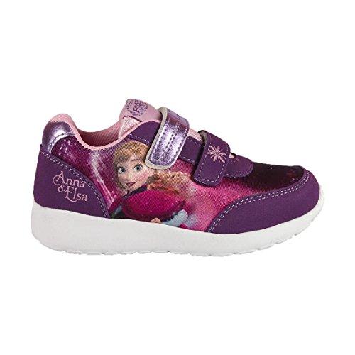 Frozen 2300002126, Zapatillas para Niñas, Morado (Purple), 32 EU