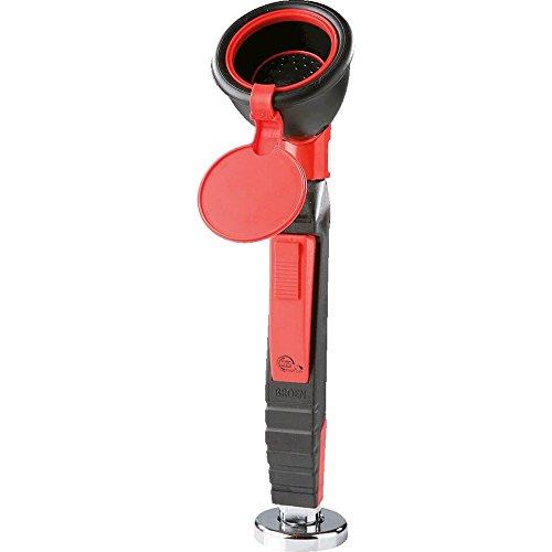 Handaugendusche REDLINE, 1 Duschkopf, inkl. 1,5 m Schlauch, zur Tischmontage, mit PRÜFPLAKETTE (Notfall-vorrichtung)