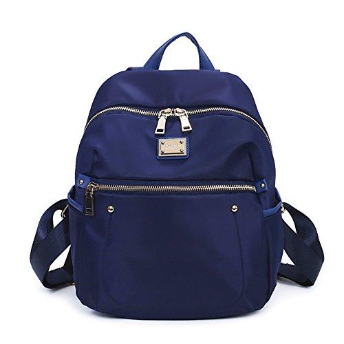 Ladies shoulder bags,borsa di tela,viaggio zaino-porpora Blu