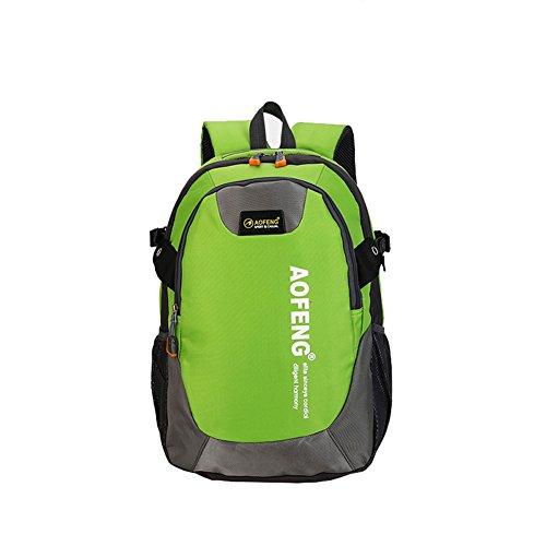 Wtus Unisex Sport Allaria Aperta Per Il Tempo Libero Borsa A Tracolla Impermeabile Ultra-leggero Zaino In Nylon Zaini Da Trekking Verde