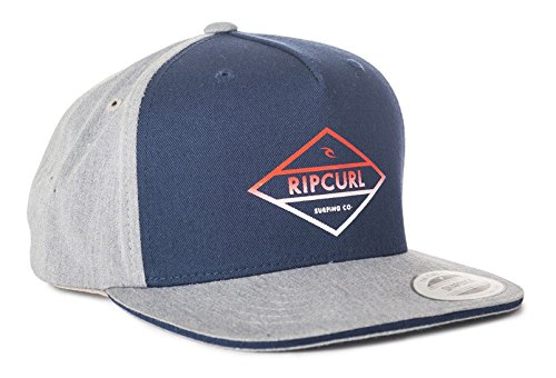 Rip Curl Herren Losange Gradian Mid Peak Cap Baseballmütze Cement Marle