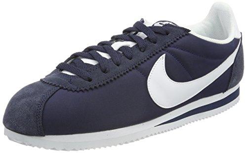 various colors e134f 2b336 Nike Classic Cortez Nylon, Zapatillas para Hombre, Azul (Obsidian/White 410)