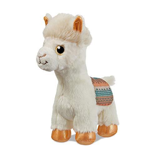 Aurora- Sparkle Tales Alpaca Peluches y muñecas, Color Beige (61030)