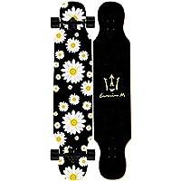 DXZ-Skateboard Patineta Longboard De 42 Pulgadas Patineta Arce Cóncavo Cubierta Doble De Urdimbre Principiante Deportes Al Aire Libre Crucero