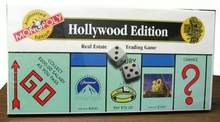 Monopoly Hollywood Edition by USAopoly