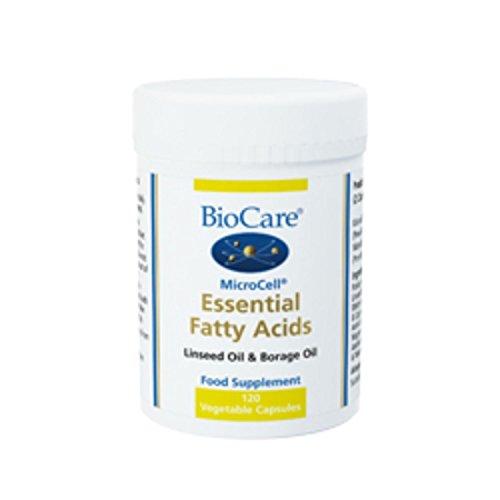 Biocare Essential Fatty Acids Vegetable - Pack of 120 Capsules Test