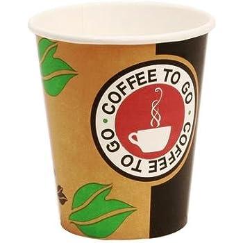1000 x Kaffeebecher mit Henkel 0,18 l Enjoy Hartpapier