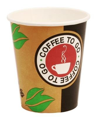 1000 Hartpapierbecher Coffee to Go Pappbecher 0,2l -