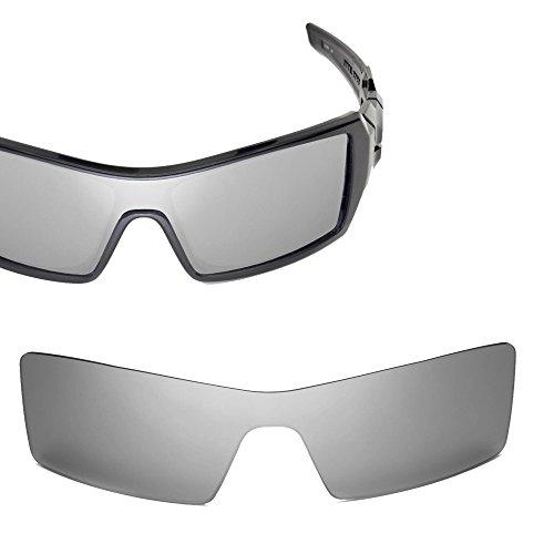 Cofery Ersatzgläser für Oakley Oil Rig Sonnenbrille - Verschiedene Optionen erhältlich, Unisex, Titanium - Mirror Coated Non Polarized, Einheitsgröße
