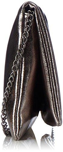 s.Oliver (Bags) - 7f.709.94.4478, Pochette da giorno Donna Grigio (Dark Pewter Metallic)