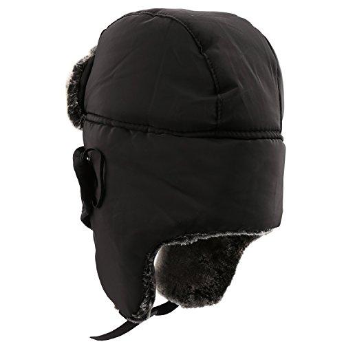 Warm Unisex Winter Trapper Trooper Hat, Mysuntown Unisex Classic Winter