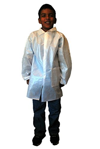 g-Lab Coats, weiß, Kind Klein, 10Stück von makerspace Lab ()