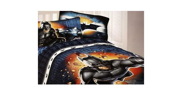 Store Batman Dark Knight Bedding Set Pc Twin Superhero - Batman dark knight bedding
