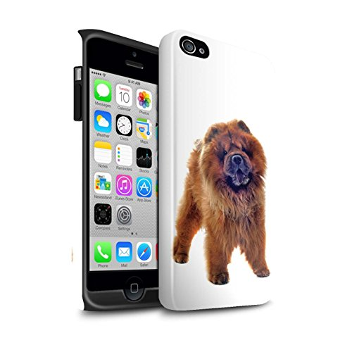 stuff4phone-case-cover-skin-ip4s-de-3dtbg-dog-razas-collection-chow-chow