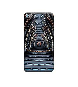 Ebby Premium Printed 3D Designer Back Case Cover For Micromax Canvas Fire 4 A107 (Premium Designer Cae)