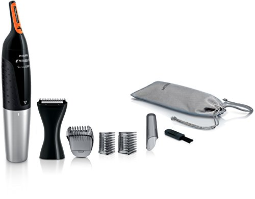 philips-nt5175-49-norelco-nose-trimmer-5100-facial-hair-precision-trimmer-for-men
