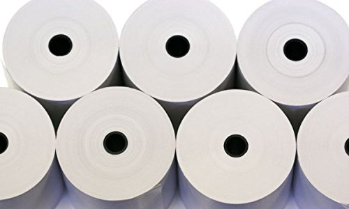 80x 60rollos papel térmico cajas registradoras